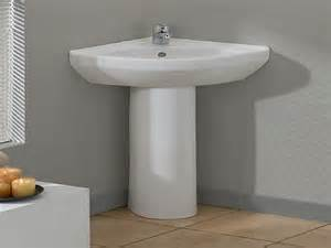 corner pedestal sinks for bathrooms modern bathroom cool corner pedestal sinks for small
