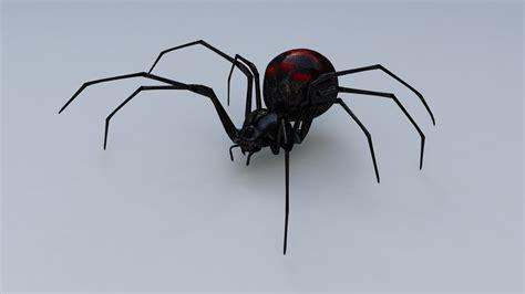 Kaos 4d Umakuka Original Black Widow Spider black widow spider 3d model