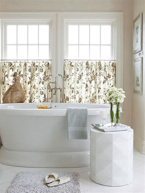 Ideas For Bathroom Window Treatments by 20 Designs For Bathroom Window Treatment House