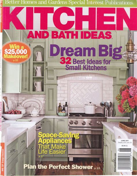 kitchen and bath ideas magazine