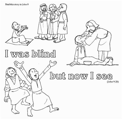 coloring page jesus heals deaf coloring pages for sunday school our sunday school class