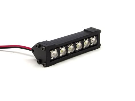 Hobby Scale Light Bar 23743 gear rc 1 10 scale six shooter led light bar white and gea1205