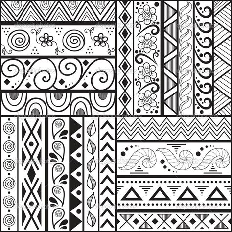 tribal pattern to draw easy patterns to draw cool but easy patterns to draw