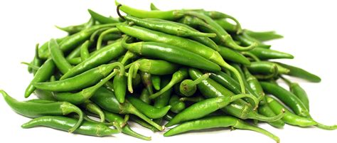 green thai chile peppers information recipes and facts