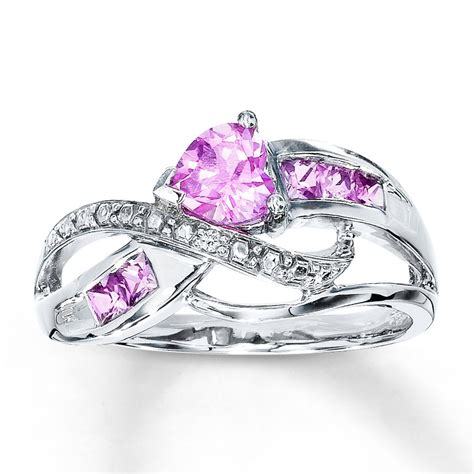 33 superb pink promise ring eternity jewelry