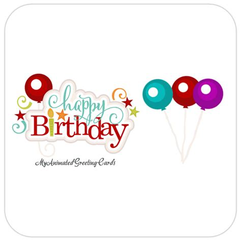 cards animated animated birthday cards to email