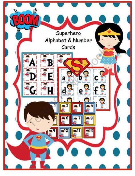 printable superhero number cards pin by jennifer russell on superhero week pinterest
