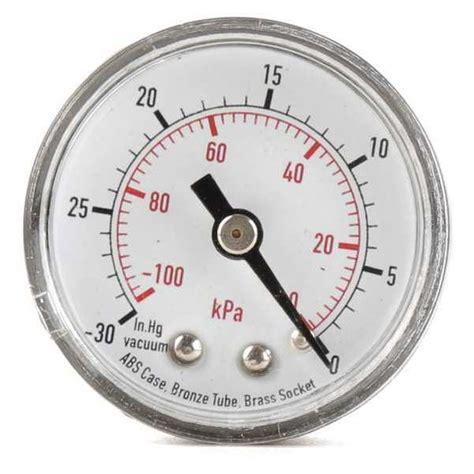 Vacuum Pressure Value Value Brand Pressure 0 To 60 Psi 0 To 400 Kpa