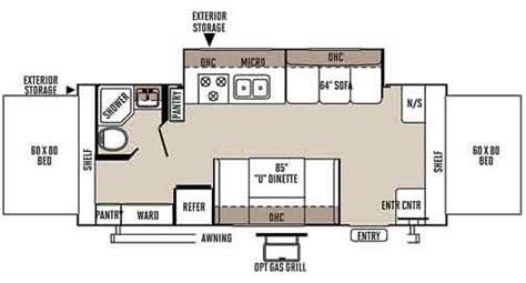 rockwood roo floor plans rockwood roo expandable travel trailer