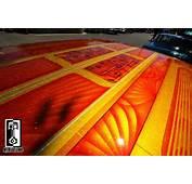 Custom Paint Job Metal Flake Roof Candy