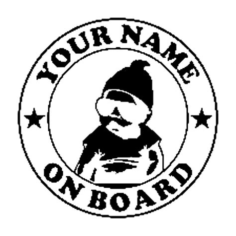 Sticker Graftac Custom 7 Cm X 7 Cm 13 5cm 13 7cm custom baby carlos hangover on board