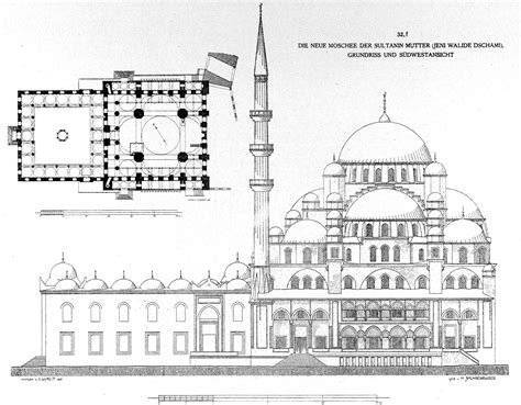 Online Floor Plans Drawing Free file new mosque istanbul by gurlitt 1912 jpg wikimedia