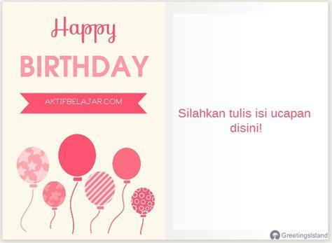 membuat kartu ucapan selamat menggunakan bahasa inggris cara membuat kartu ucapan ulang tahun dalam bahasa inggris