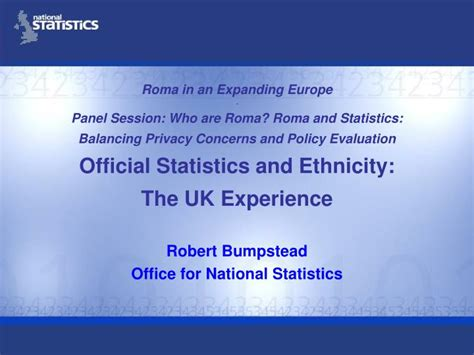 Office For National Statistics by Ppt Robert Bumpstead Office For National Statistics
