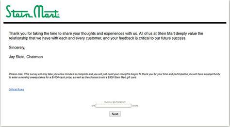 Www Steinmart Com Sweepstakes - survey steinmart com stein mart survey