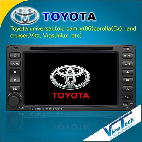 Universal Toyota Service All In One Din Dvd For Toyota Universal Models Vt