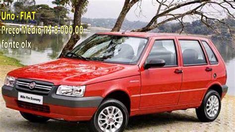 carros usados 6 carros usados bons e baratos youtube