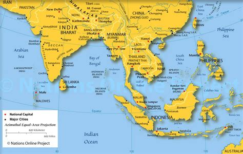labelled map of asia labeled map of asia