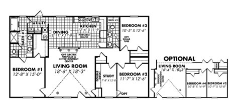 legacy mobile home floor plans legacy housing wides floor plans