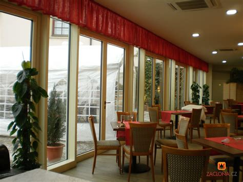 gardinen ideen fur restaurant hotelrestaurant im wintergarten heimtex ideen