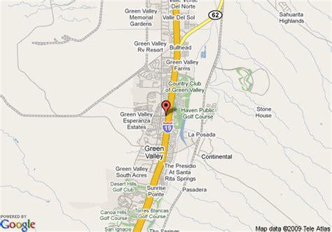 comfort inn green valley az map of comfort inn green valley green valley