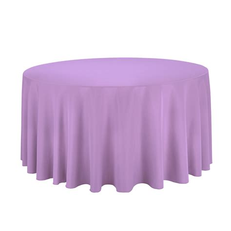 Table Cloth - 120 in polyester tablecloth for wedding reception