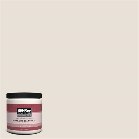 behr premium plus ultra 8 oz 730c 1 white clay interior exterior paint sle 730c 1u the