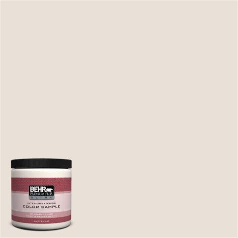 behr premium plus ultra 8 oz 730c 1 white clay interior exterior paint sle 730c 1u the