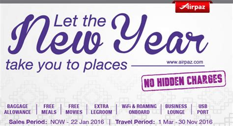 new year flight promotion malindo new year promotion flights airpaz