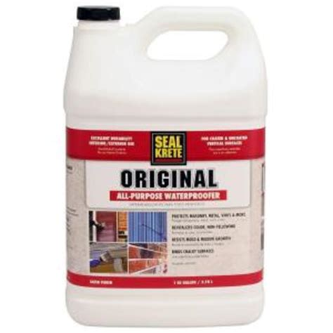 seal krete 1 gal original waterproofing sealer 100001