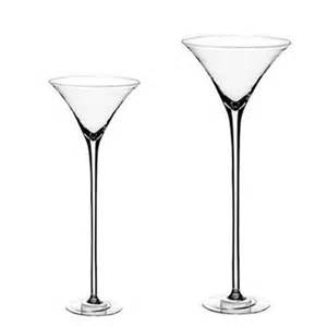 vase martini vase haut vase en verre dcoration mariage