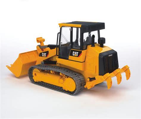 bruder toys bruder 1 16 caterpillar plastic toy track loader 02447