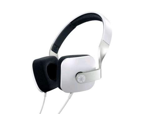 Headphone Yamaha Hph M82 yamaha hph m82 on ear headphones including mic in line remote white electronics thehut