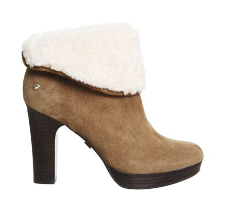 ugg dandylion 11 heels in brown lyst