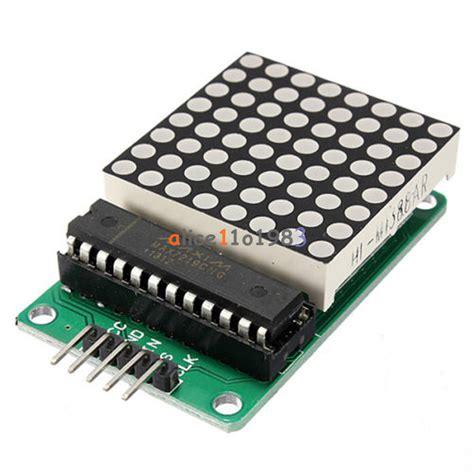 Modul Led Matrix 8x8 By Ecadio max7219 dot led matrix module mcu led display