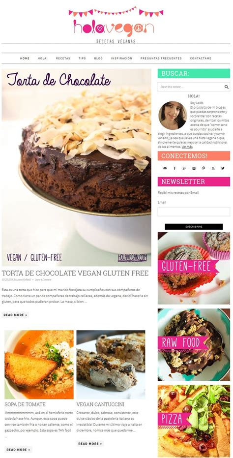 9 best images about blogs y p 225 ginas de cocina vegana on healthy vegetarian recipes