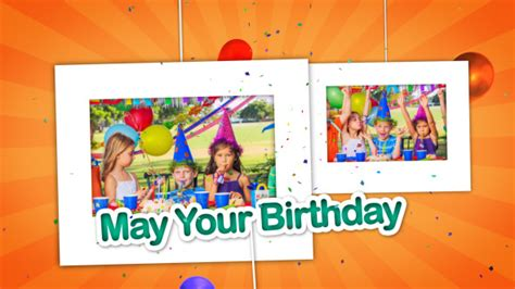 after effect birthday template happy birthday celebrations photo gallery by