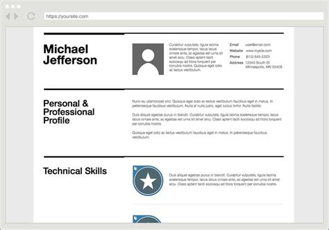 Make Your Resume Online by Acclaim