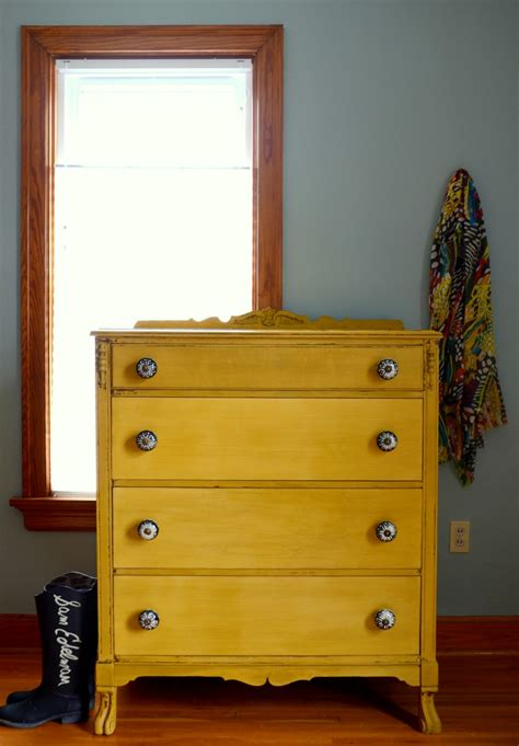 debut a mustard chest of drawers estuary designs