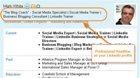 Profile Headline Exles In Linkedin How To Show Your Mba by Linkedin Profile Professional Headline Key Elements