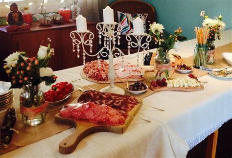 Italian themed bridal shower   Party ideas   Pinterest