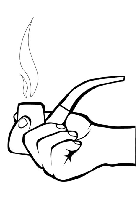 coloring book smoke coloring pages clipart best