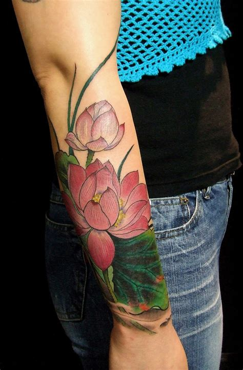 tattoo lotus hand 41 enticing lotus flower tattoos