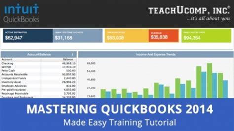 quickbooks tutorial software intuit quickbooks training tutorial v 2014 2013