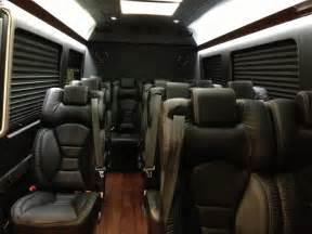 Mercedes Sprinter Interior by Mercedes Sprinter Mini Interior Limos