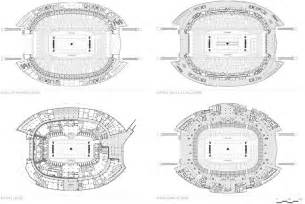 Football Stadium Floor Plan Cowboys Stadium Openbuildings
