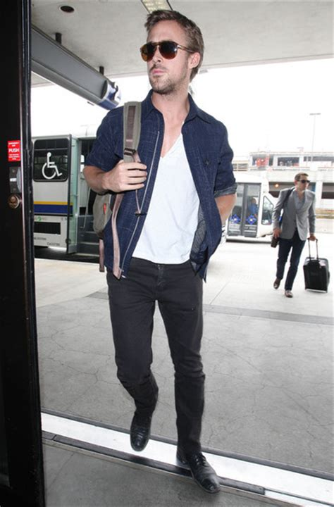 more pics of ryan gosling denim jacket 17 of 17