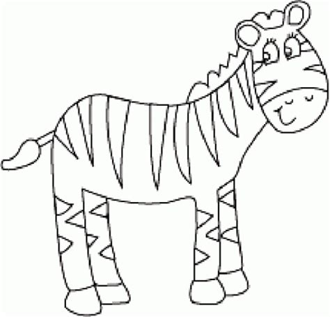 printable zebra print outline printable coloring pages for kids coloring pages part 36