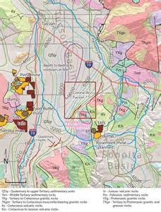 geological map of arizona the statemap mapping program in arizona 2014 update
