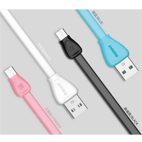 Kabel Data Micro Remax Martin Rc 028m remax martin series micro usb cable for smartphone rc